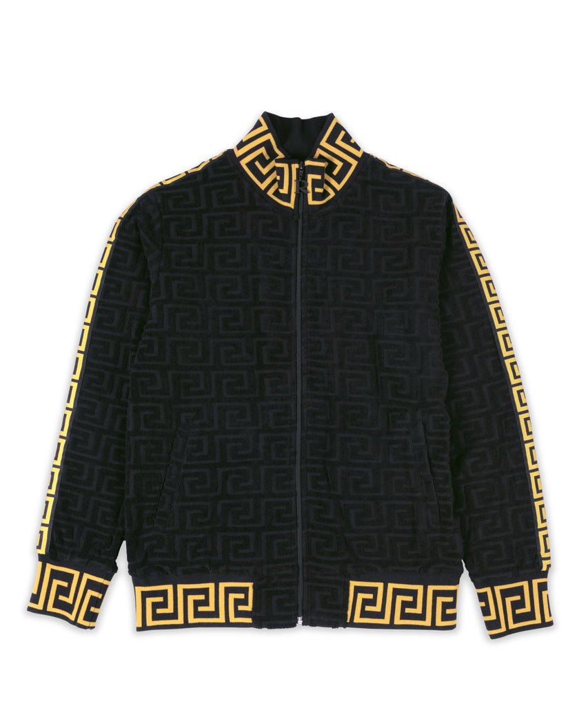 Embossed Terry Jacket - The Plug Dallas