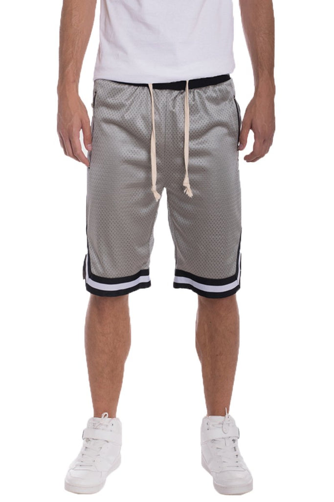 EDWIN DOUBLE MESH SHORTS- GREY - The Plug Dallas