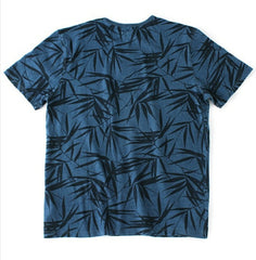 Osaka Leaf Print Tee - The Plug Dallas