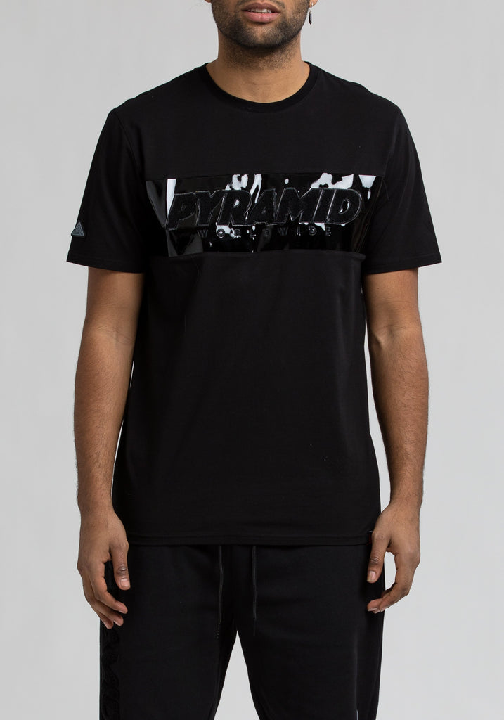 The BLACK Pyramid Tee - The Plug Dallas