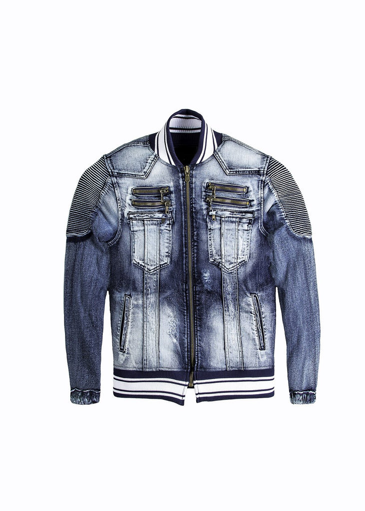 Zen Denim Jacket - The Plug Dallas