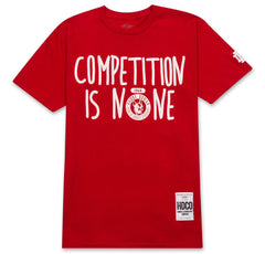 Competition Tee (Red) - The Plug Dallas