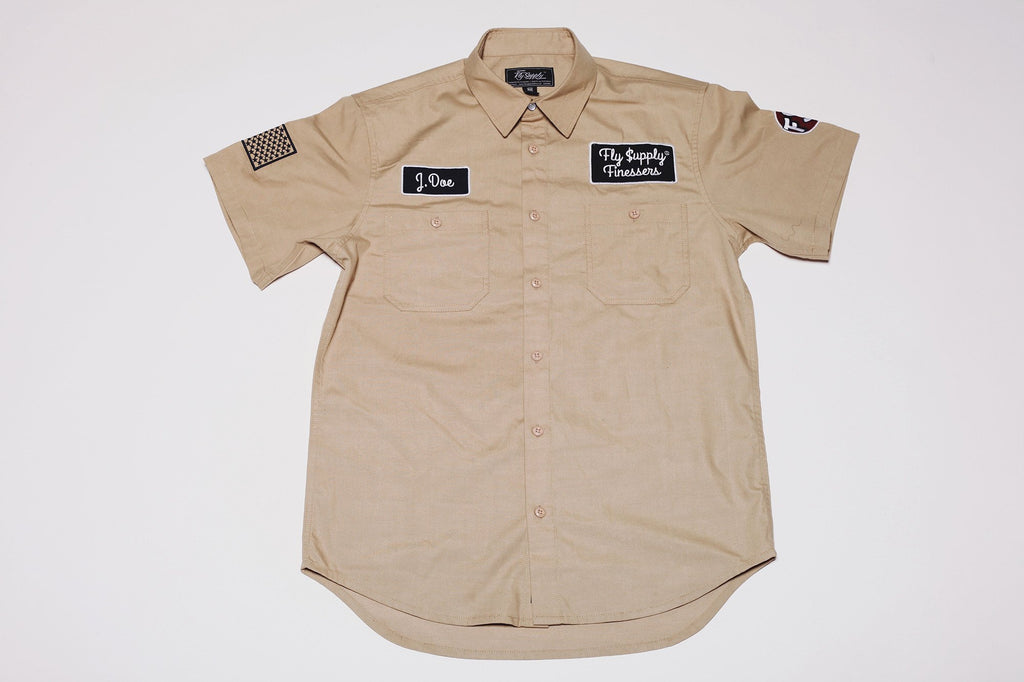 Finessers Work Shirt - The Plug Dallas