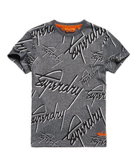 Superdry Crew All Over Print T-shirt - The Plug Dallas