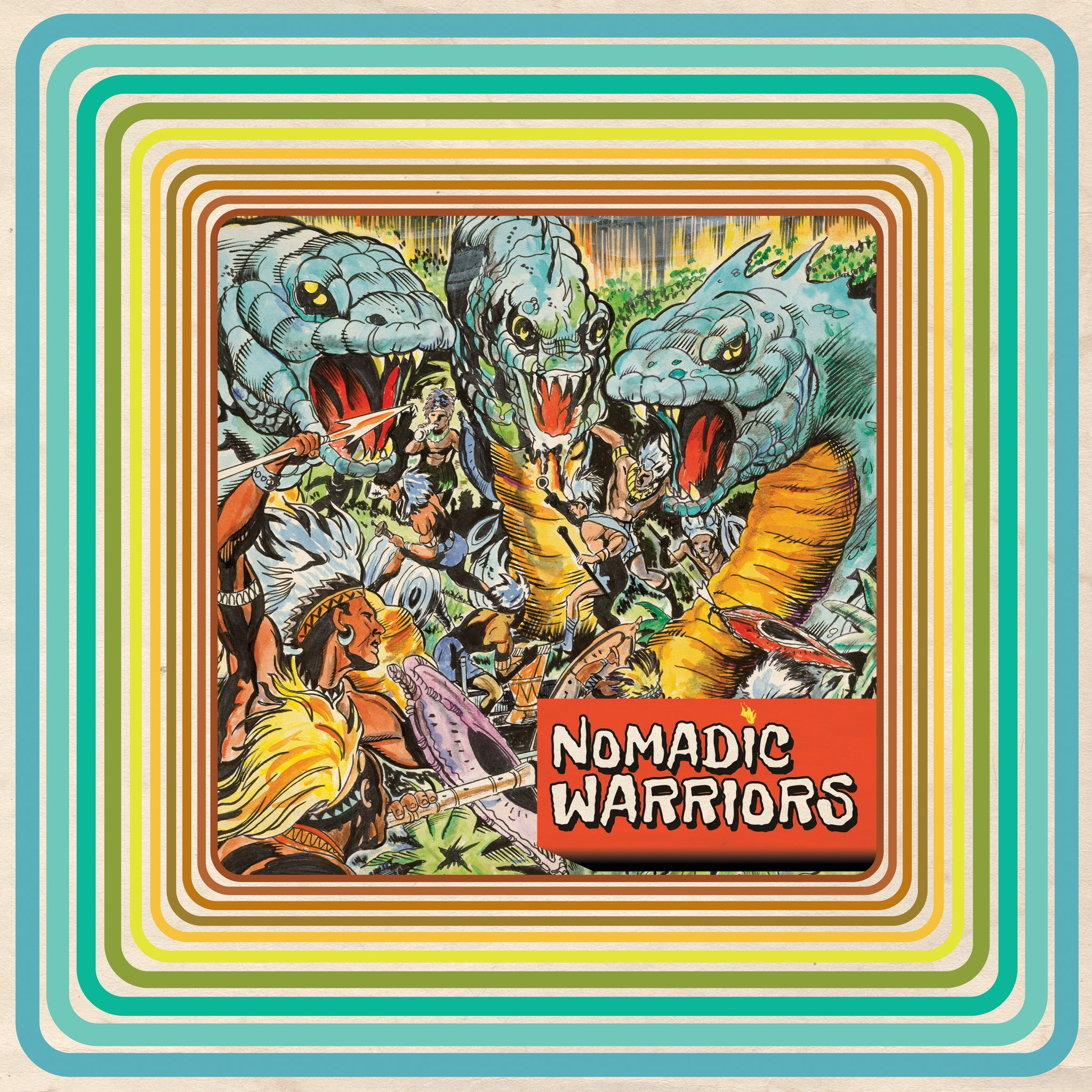 Nomadic Warriors (vinyl LP)