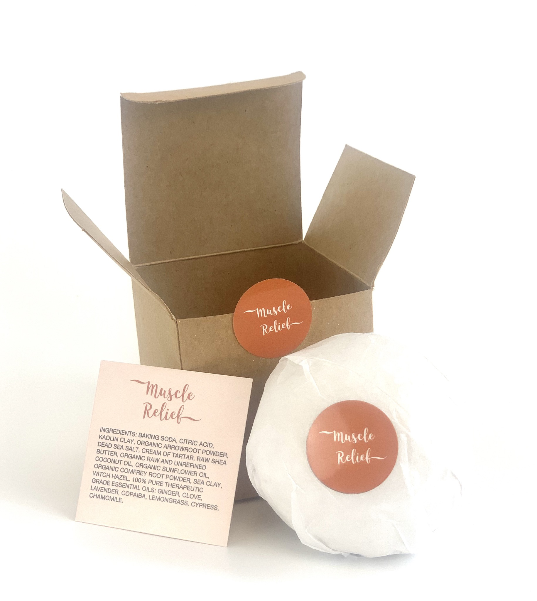 Muscle Relief - Rowe Casa Bath Bomb