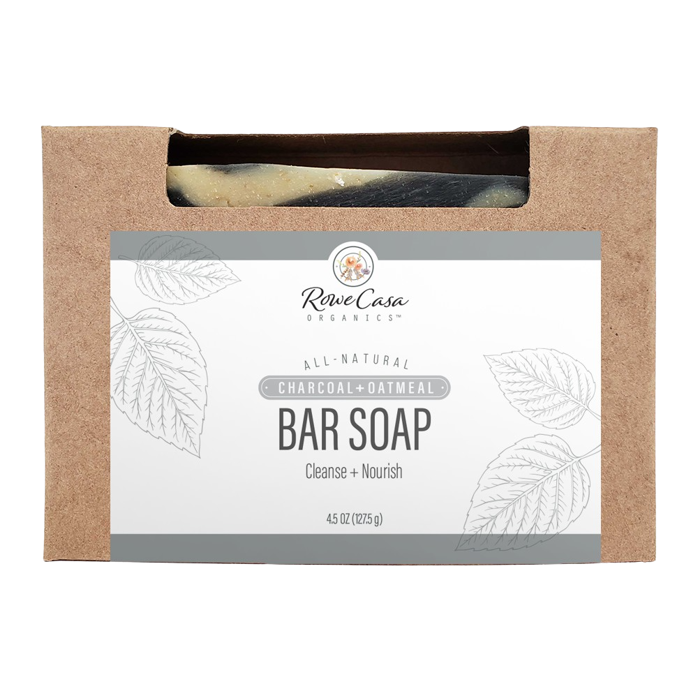 Rowe Casa Bar Soap - Charcoal & Oatmeal