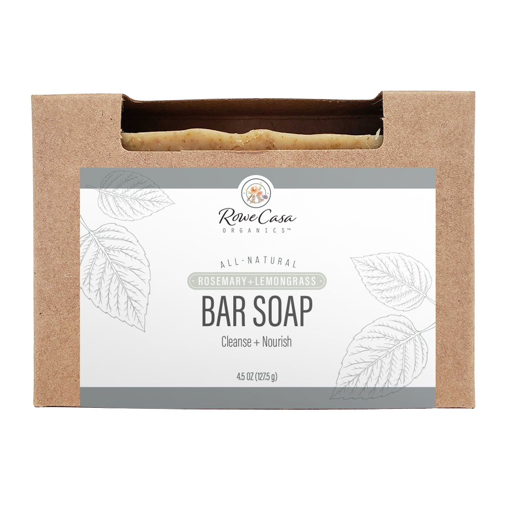Rowe Casa Bar Soap - Rosemary & Lemongrass