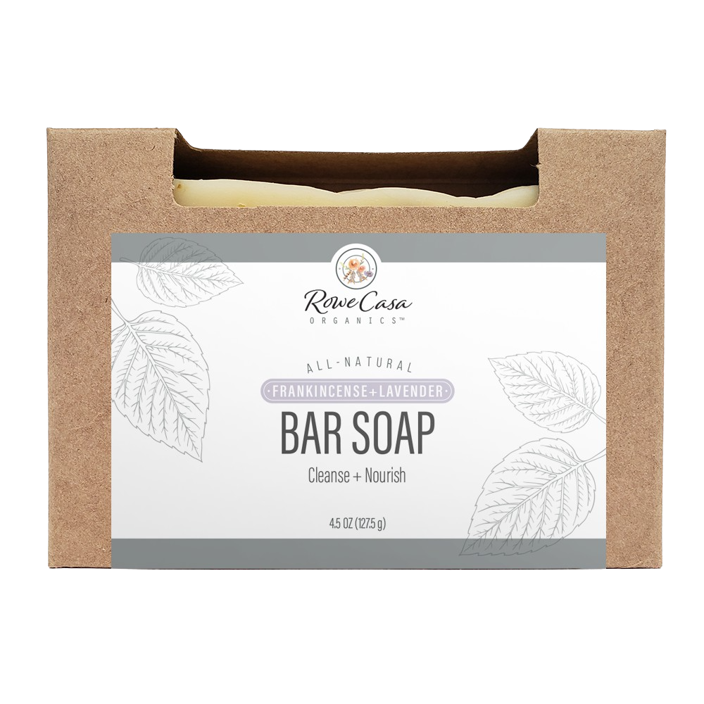 Rowe Casa Bar Soap - Frankincense & Lavender
