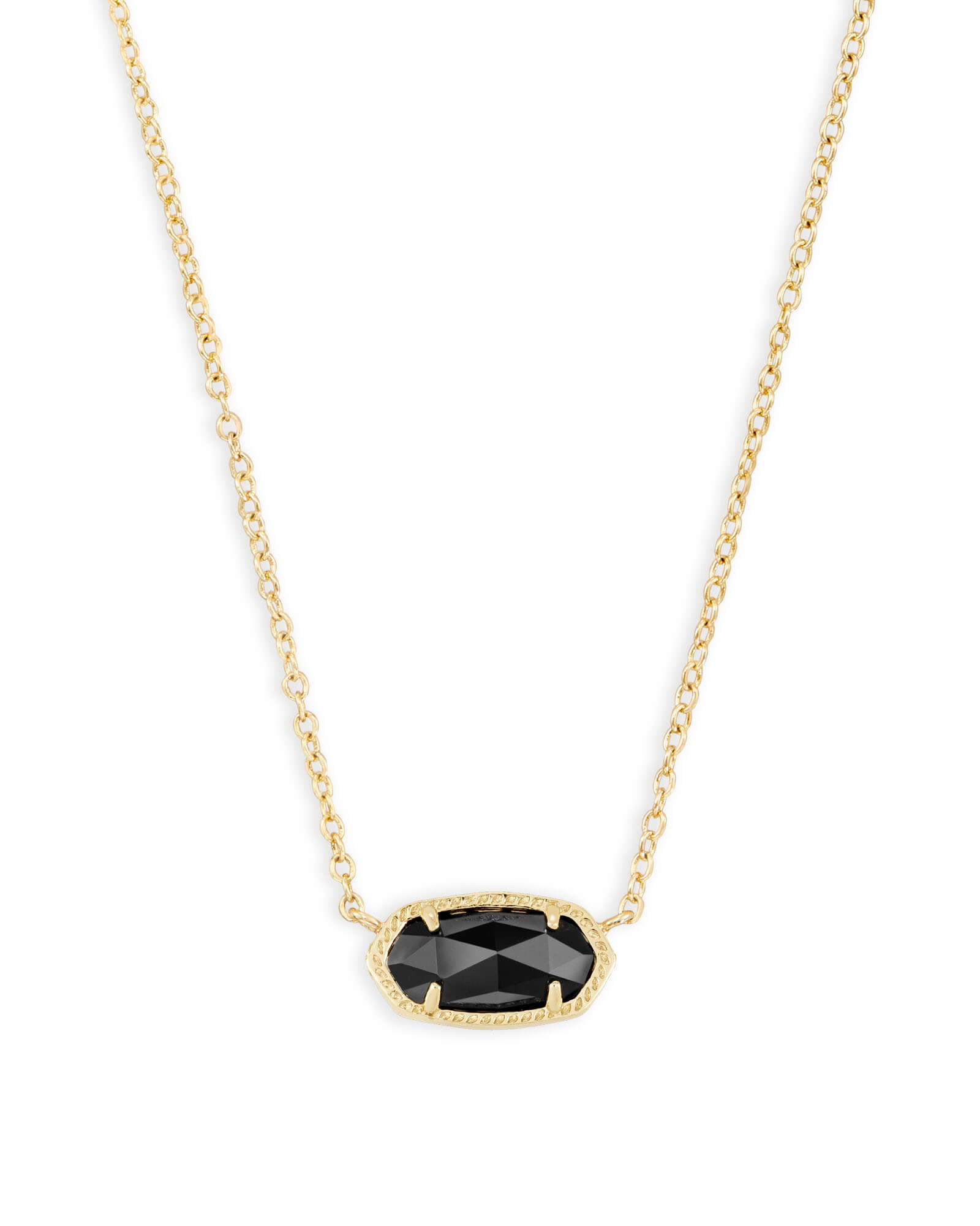 ELISA NECKLACE GOLD BLACK