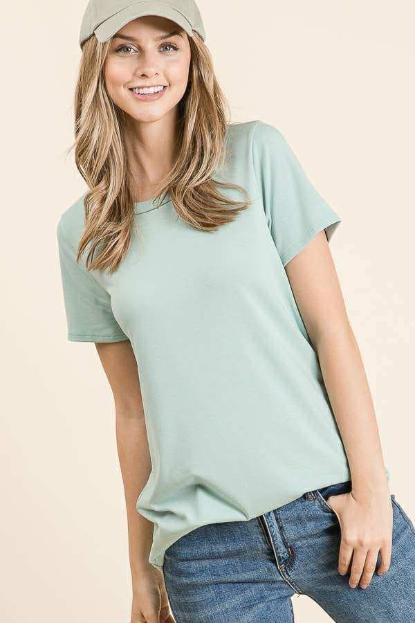 Sage Short Sleeved T Shirt