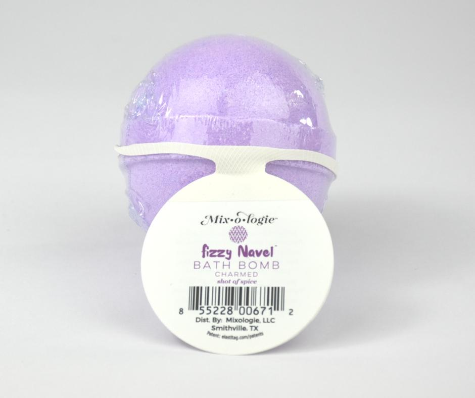CHARMED All Natural Fizzy Navel Bath Bomb