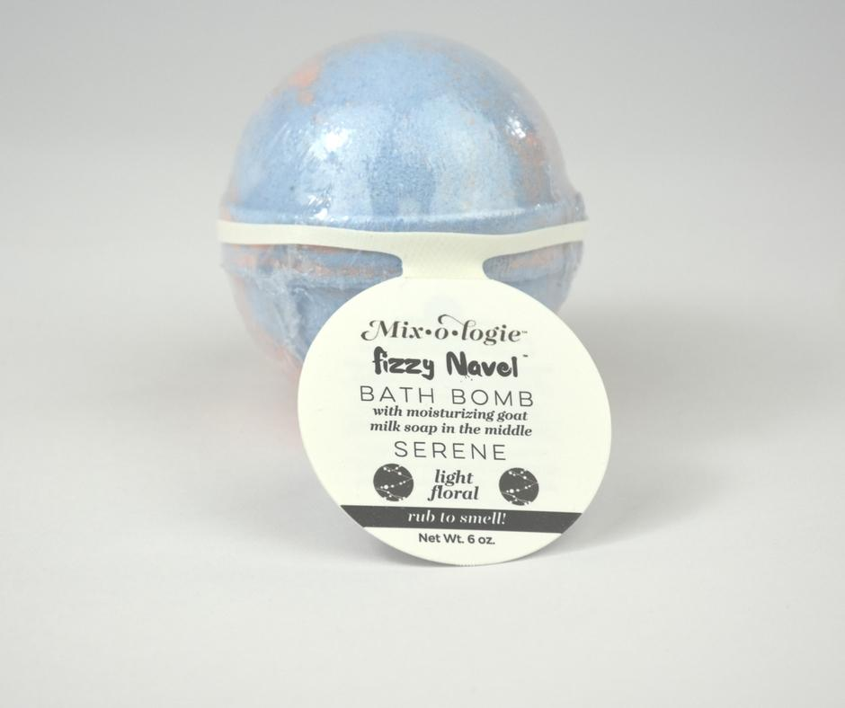 SERENE All Natural Fizzy Navel Bath Bomb