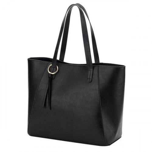 Black Camillia Purse