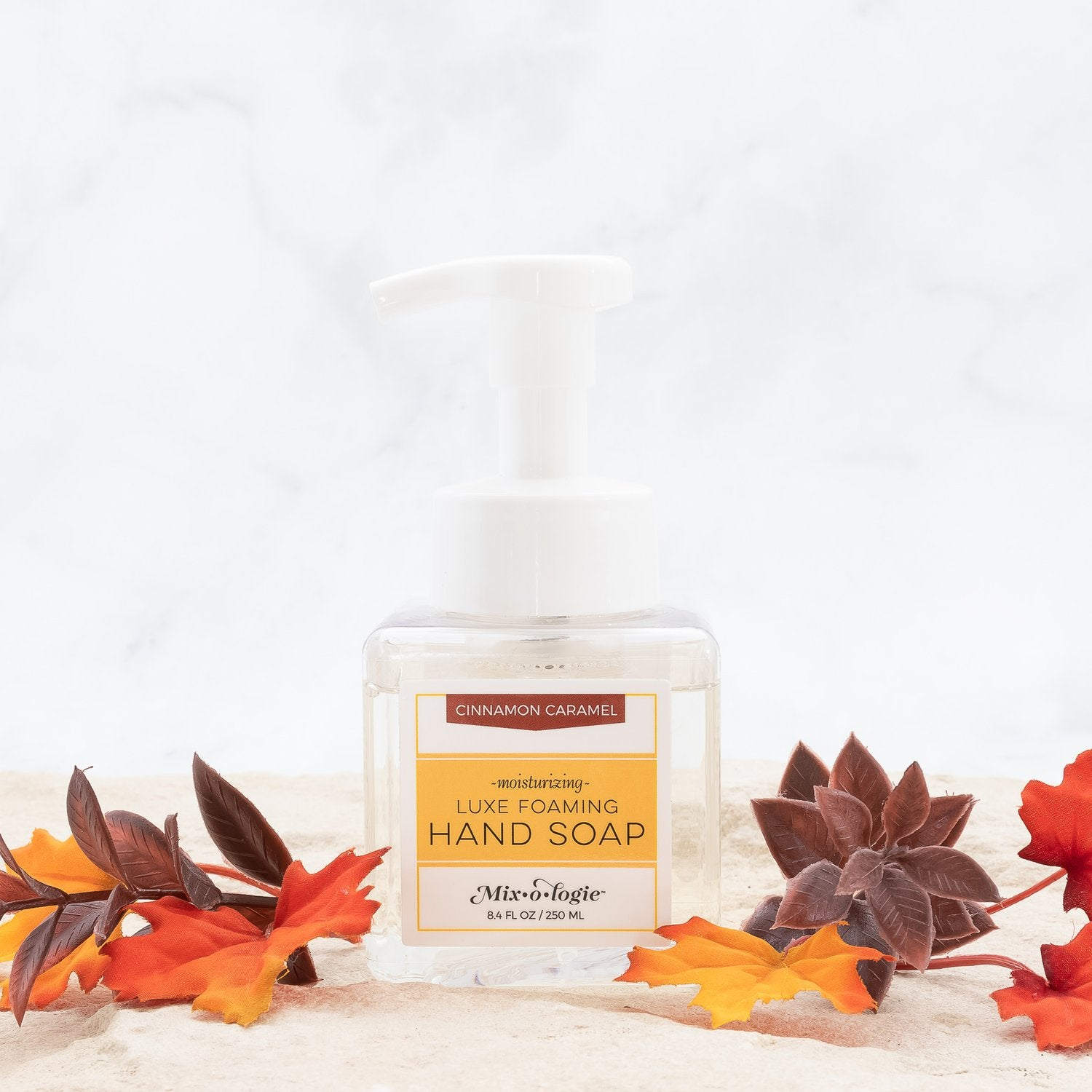 Cinnamon Caramel Luxe Foaming Hand Soap