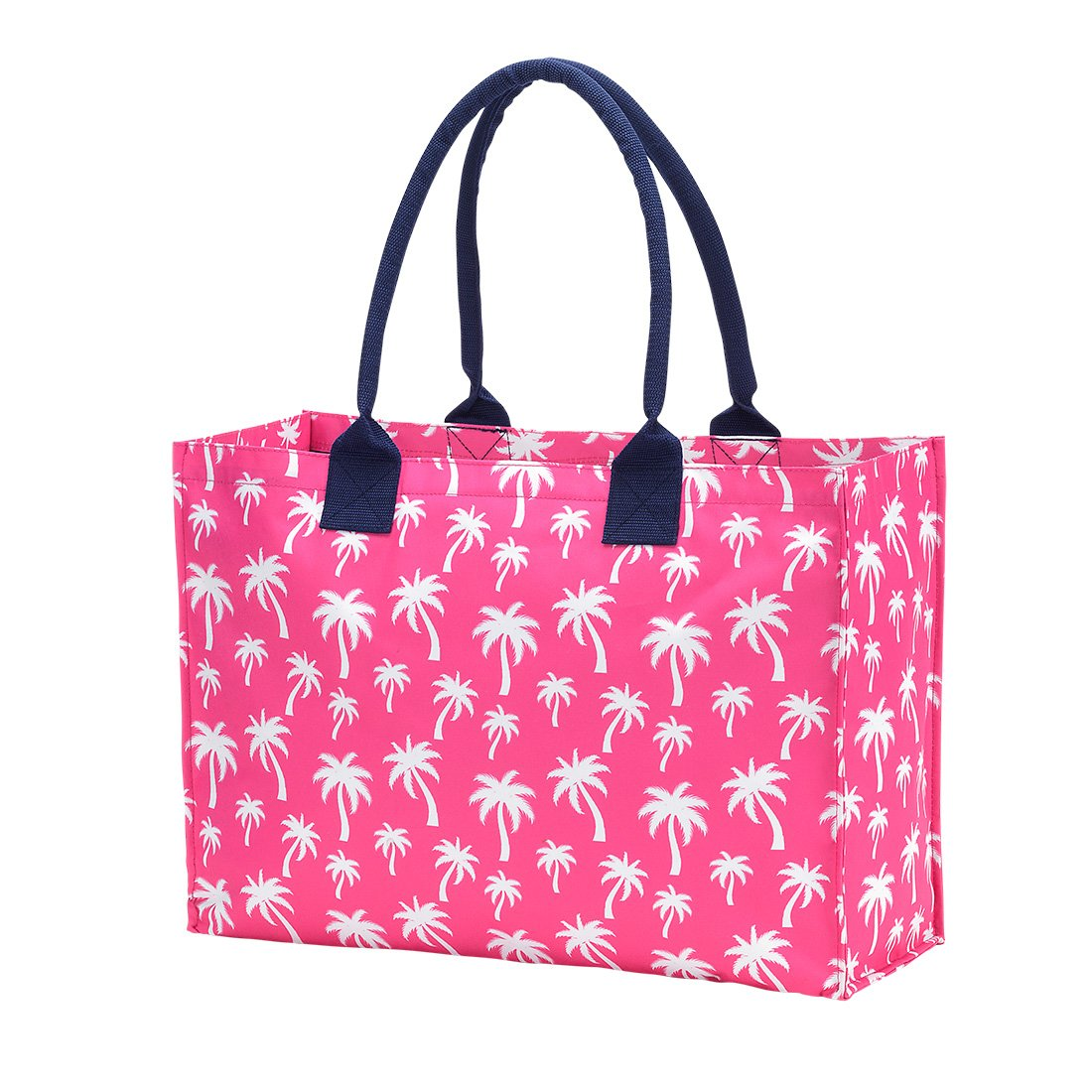 Hot Pink Palm Tote
