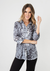 Wild Instinct Button Up Top - Black