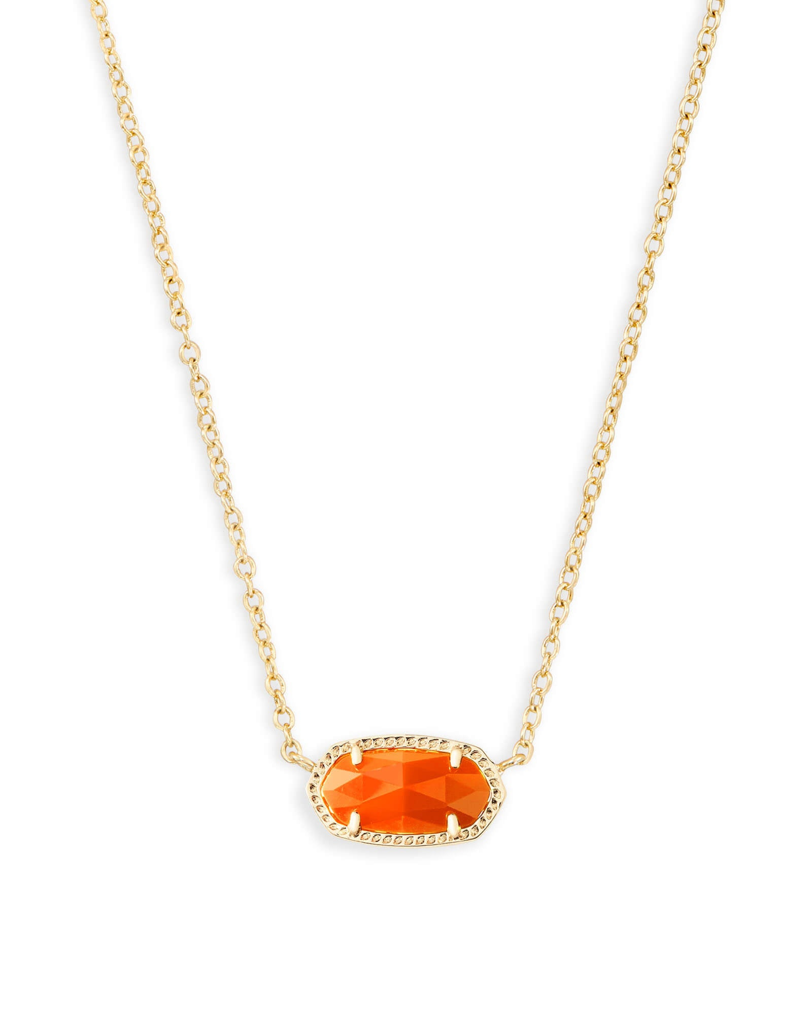 ELISA NECKLACE GOLD ORANGE