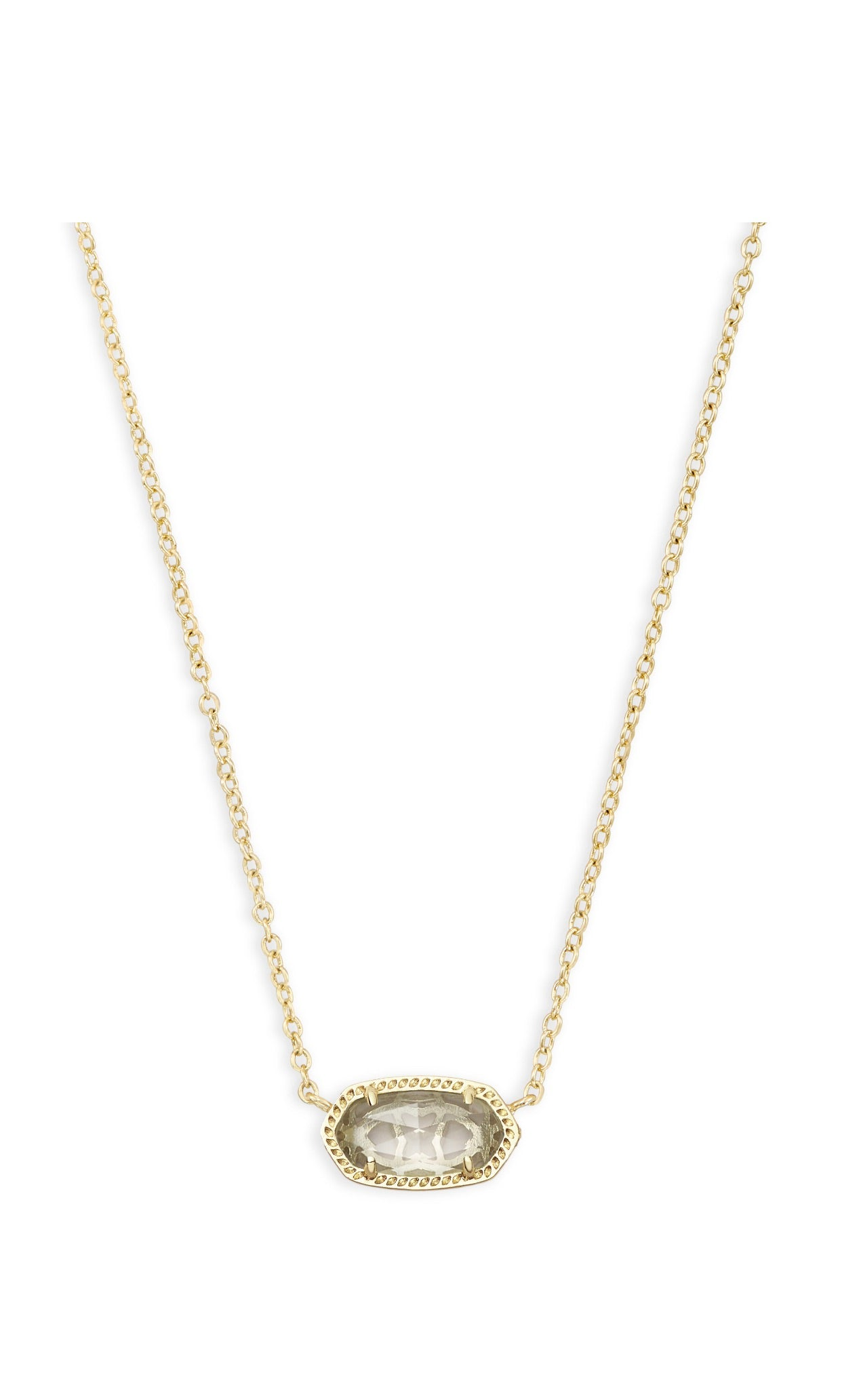 ELISA NECKLACE Gold Crystal