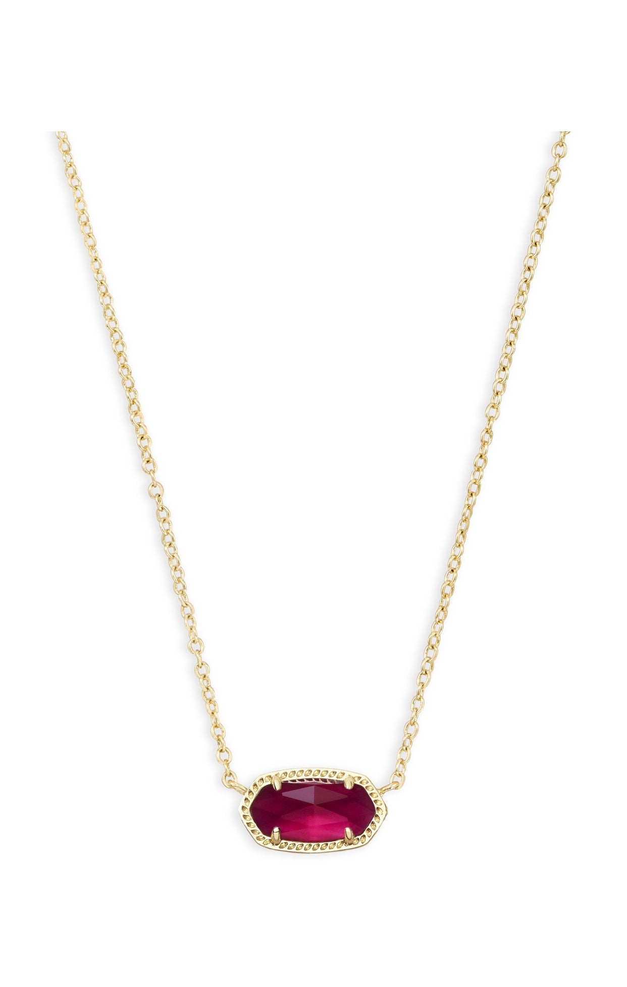 ELISA NECKLACE Gold Berry Illusion
