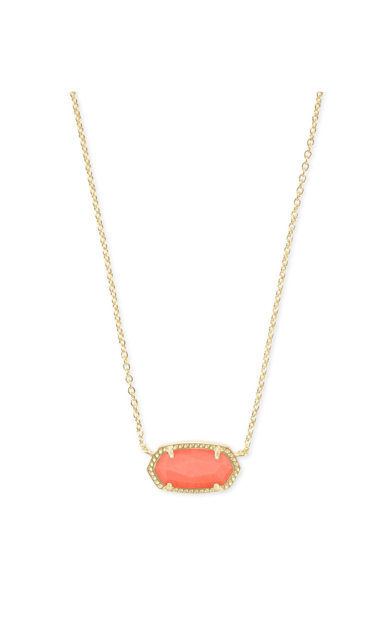 ELISA NECKLACE GOLD Coral