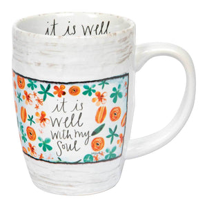 It Is Well Mug