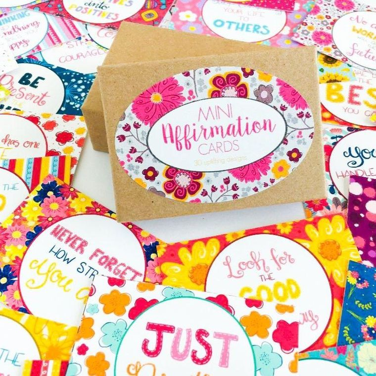 Positive Affirmation Cards Boxed