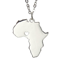 For the love of Africa Necklace (Gold or Silver) - Branded Royalty