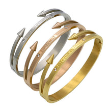Gold Eternal Love Bangle (Gold, Rose Gold or Silver)