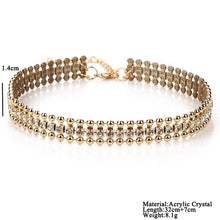 Crystal Choker Collection - Choose 1 or all! (Sold separately)