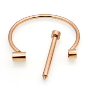 Shackle Screw Bracelet (Gold, Rose Gold or Silver)