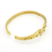 Gold Eternal Love Bangle (Gold, Rose Gold or Silver) - Branded Royalty