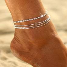 Multi-layer Crystal Anklet