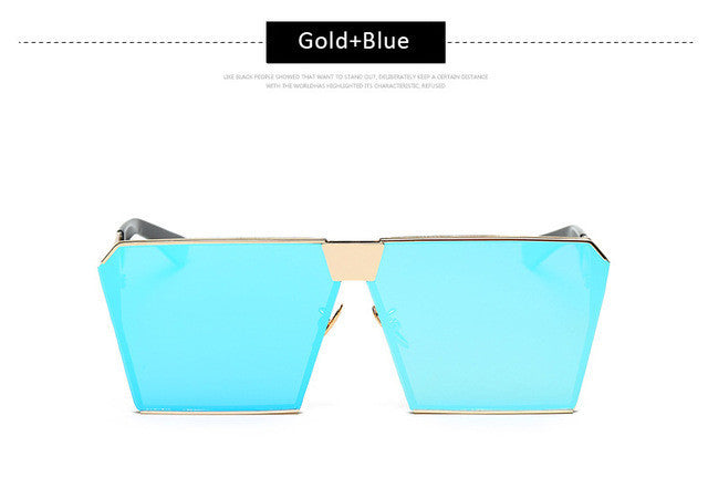 Futuristic Square Sunglasses (Various Colors) - Branded Royalty