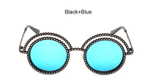 Double Halo Sun Glasses - Various Colors Available! - Branded Royalty