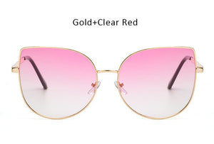 Ombre Cat Eye Sunglasses - Various Colors Available! - Branded Royalty