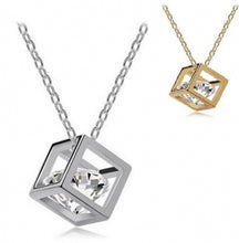 Cube Necklace (Gold or Silver) - Branded Royalty