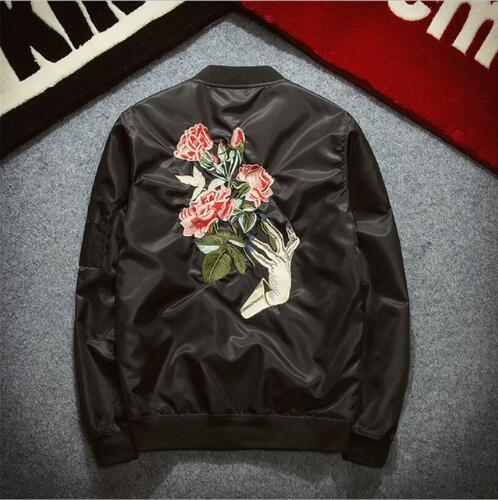 Feeling Roses Bomber Jacket