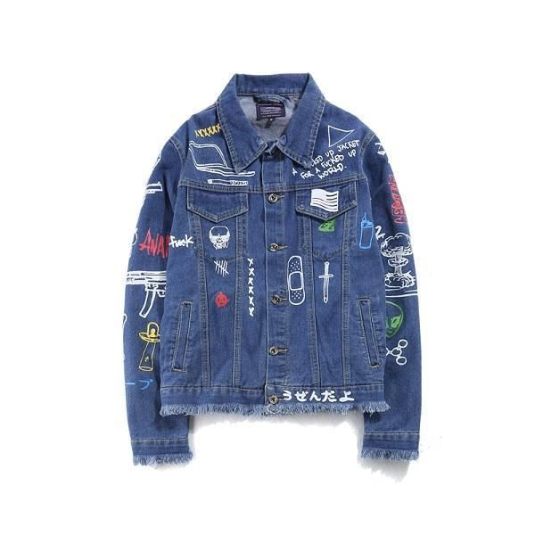 Midici Denim Jacket