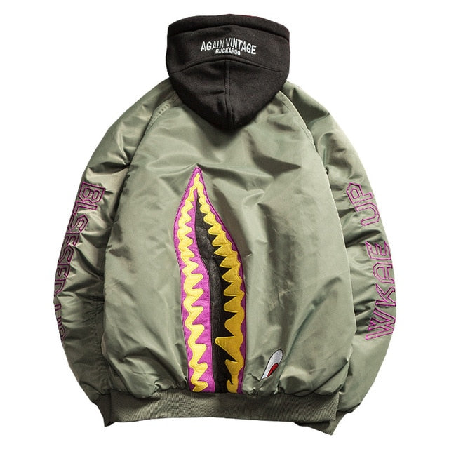 'Jawzu' Hooded Jacket