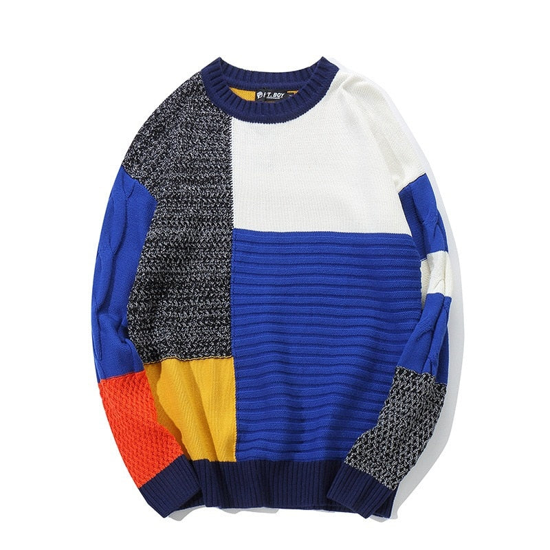 'Patchwork' Pullover