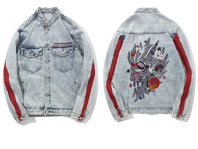 'Sakura' Denim Jacket