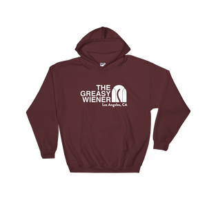 Women's | The Greasy Wiener Face | Oversized Hoodie