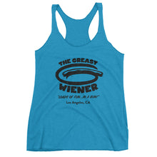 Women's | Distorted Logo | Tri-Blend Tank Top