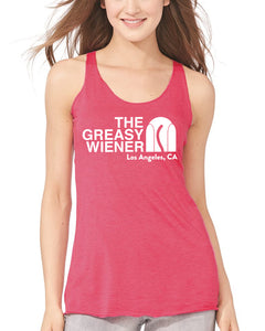 Women's | The Greasy Wiener Face | Tri-Blend Tank top