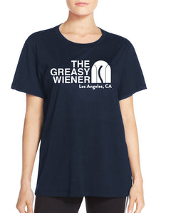 Women's | The Greasy Wiener Face | Boyfriend Tee