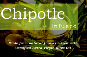 Chipotle Infused Organic Olive Oil