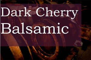 Dark Cherry Balsamic Vinegar