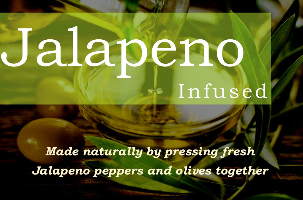 Jalapeno Infused Olive Oil