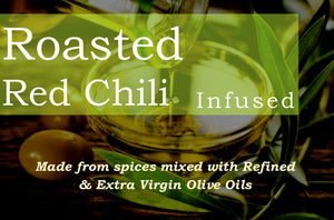 Roasted Red Chili Infused Olive Oil